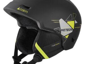 Kask narciarski cairn meteor – black lemon