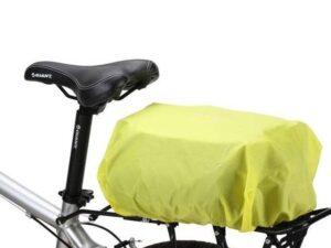 Uniwersalny pokrowiec przeciwdeszczowy z gumką na torbę rowerową plecak zielony wozinsky wbb5yw