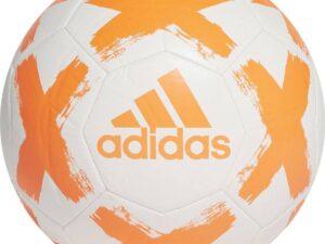 Piłka nożna adidas starlancer clb biało-pomarańczowa fl7036 5