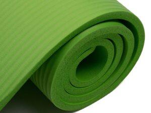Mata do ćwiczeń nbr 180x60x1,0cm fa-2052 green