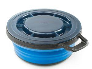 Miska turystyczna gsi outdoors escape bowl + lid – blue