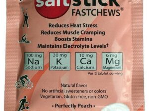 Elektrolityczne pastylki do ssania saltstick – 10 szt smak brzoskwiniowy
