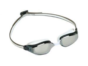 Aquasphere okulary fastlane jasne lustrzane szkła ep2940910 lms white-grey