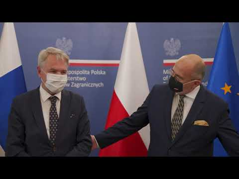 Read more about the article Meeting between chiefs of diplomacy of Poland and Finland